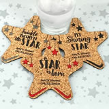 Baby Star Cork Coaster
