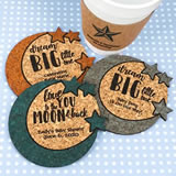 Baby Moon & Stars Cork Coaster