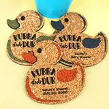 Baby Rubber Ducky Cork Coaster