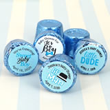 Baby Boy Hershey's Rolo Chocolate Favors