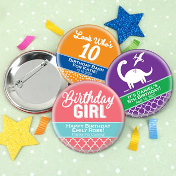 Kids Birthday Buttons (2.25