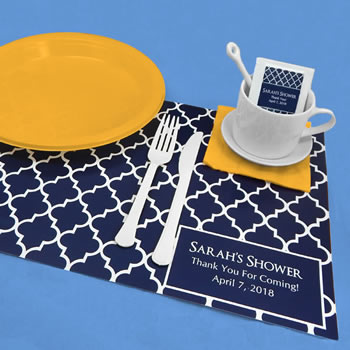 Personalized Placemats-Silhouette Collection