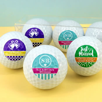 Personalized Golf Balls - Silhouette Collection