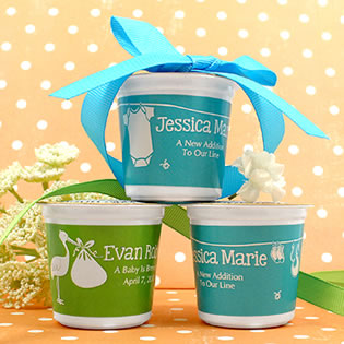 Personalized K-Cup Coffee - Modern Baby Shower Designs