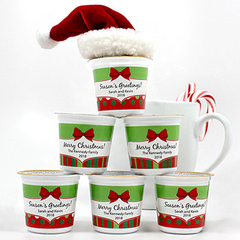 Personalized K-Cup Coffee -Holiday Designs