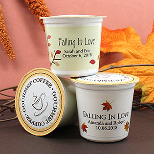 Personalized K-Cup Coffee - Fall Designs