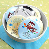 "Baby Shower Personalized Boy Designs Buttons (2.25"")"