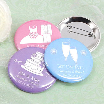 Personalized Buttons-Silhouette Collection (2.25