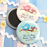 "Baby Shower Personalized Boy Designs Magnets (2.25"")"