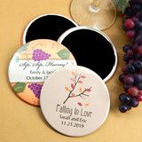 "Personalized Wedding Magnets (2.25"") - Fall Designs"