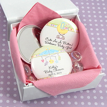 Baby Shower Personalized Mirrors