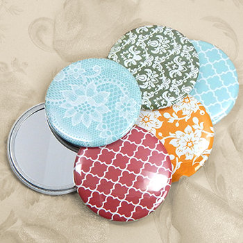 Assorted Vintage Mirror Favors (Set of 12)