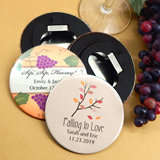 Personalized Wedding Bottle Opener - Fall Designs