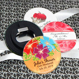 "Personalized Wedding Bottle Opener (2.25"") - Floral Designs"