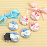 "Baby Shower Personalized Magnets (1"")"