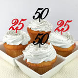 Personalized Number Cupcake Topper - Sample