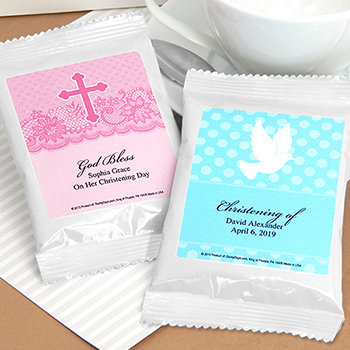 Religious Coffee Favors (White)