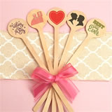 Custom Wood Stirrers