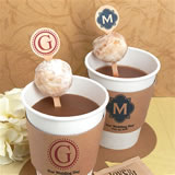 Monogram Wood Stirrers