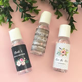 Personalized Floral Garden Hand Sanitizer