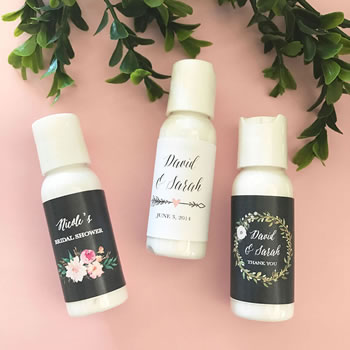 Personalized Floral Garden Lotion
