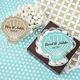 Seashell Acrylic Favor Boxes