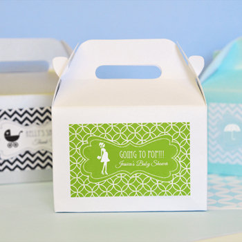 MOD Pattern Baby Mini Gable Boxes (set of 12)