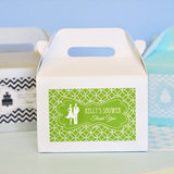 MOD Pattern Theme Mini Gable Boxes (set of 12)