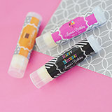 Personalized Birthday Lip Balm Tubes