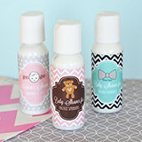 Personalized Baby Shower Lotion