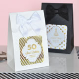 Sweet Shoppe Candy Boxes - Metallic Foil Birthday (set of 12)