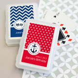 MOD Pattern Kid's Birthday Playing Cards