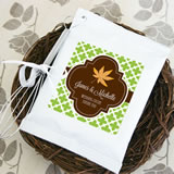 """Fall for Love"" Personalized Hot Cocoa + Optional Heart Whisk"
