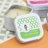 MOD Pattern Kid's Birthday Square Candle Tins