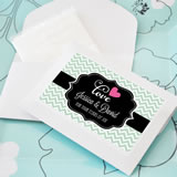 """Tears of Joy"" Personalized Tissue Packs"