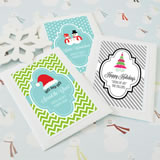 """A Winter Holiday"" Personalized Seed Packets"
