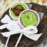 Fall for Love Personalized Lollipop Favors