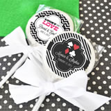 A Lucky Pair Personalized Vegas Lollipop Favors