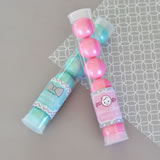 Baby Shower Personalized Candy Tubes