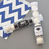 """Hats off to You"" Personalized Graduation Candy Tubes"
