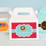 MOD Kid's Birthday Mini Gable Boxes (set of 12)