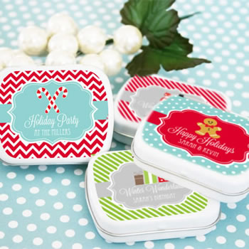 """A Winter Holiday"" Mint Tins"