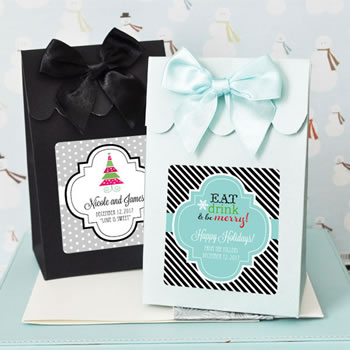 Sweet Shoppe Candy Boxes - Winter Designs (set of 12)