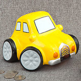 Large Multicolored ceramic car banks/Centerpiece