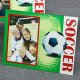 Soccer Themed Frames