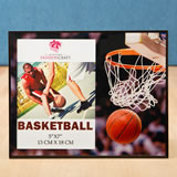 Magnificent basketball themed Frame 5 x 7 from Gifts By Fashioncraft