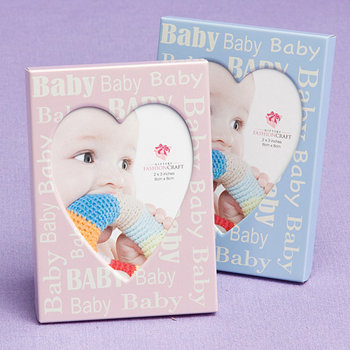 Pink and Blue  Baby Frames (48 pcs per Display)