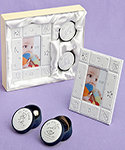Three-piece baby gift set