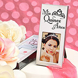 Silver Mis Quince Frame
