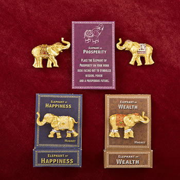 Lucky Elephant Key Magnets